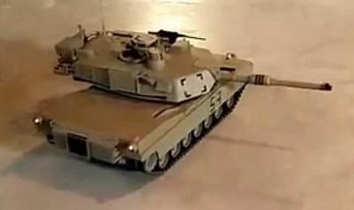 M1 turret sideways