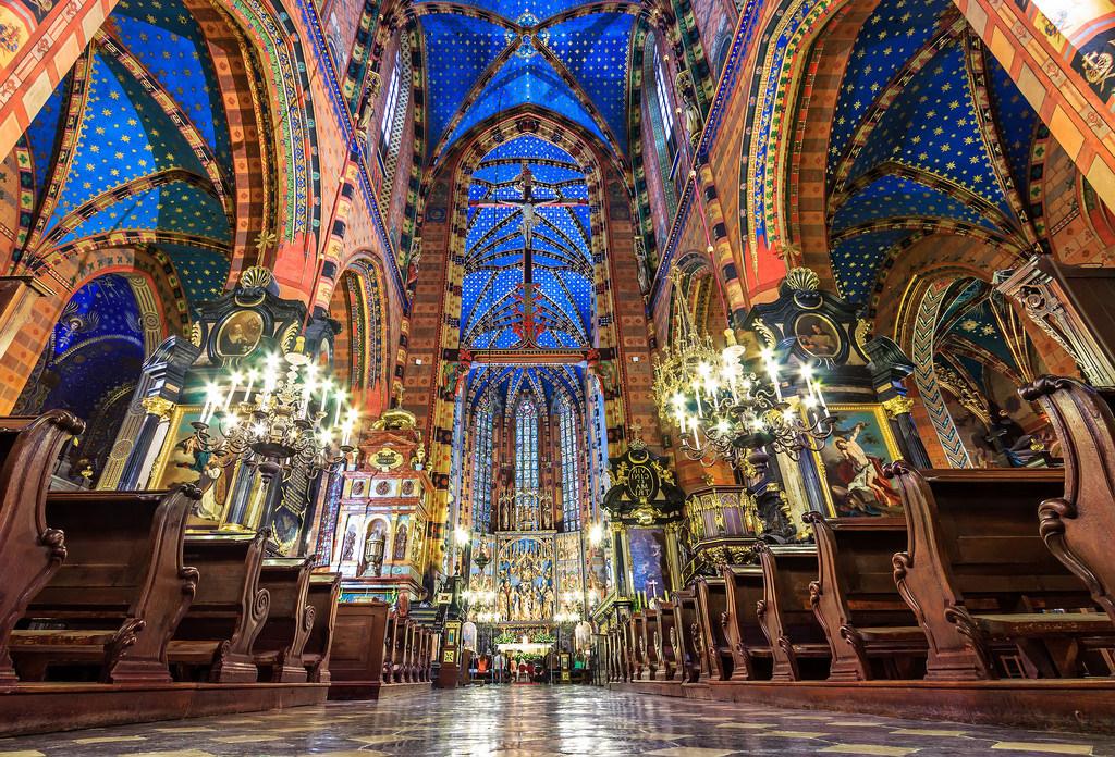 St Mary's Basilica - inside