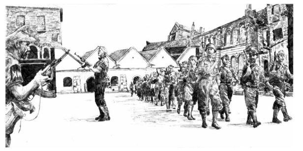 Warta Krakow guard