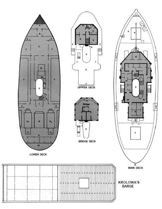 Krolowa deckplans 2