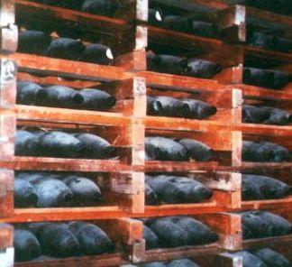 Russian chemical artillery shells