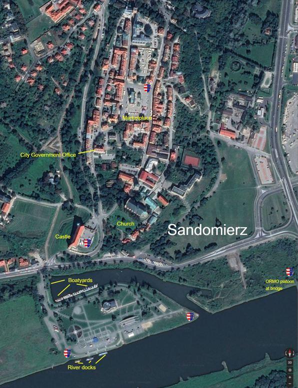 Sandomierz labelled