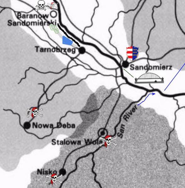 Sandomierz area