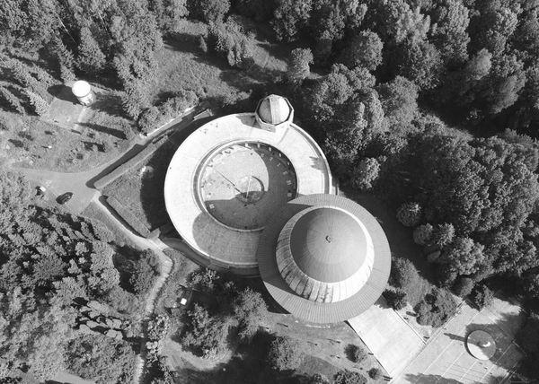 Planetarium overhead