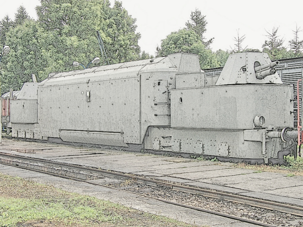 Panzertriebwagen Nr.16 (PzTrWg 16) in museum site