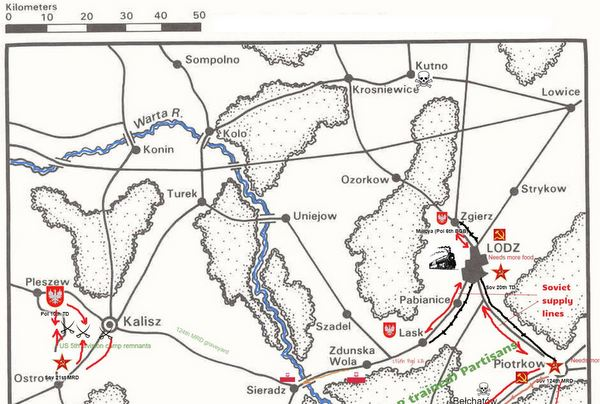 30 Oct 2000 Kalisz area map