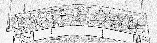 bartertown sign