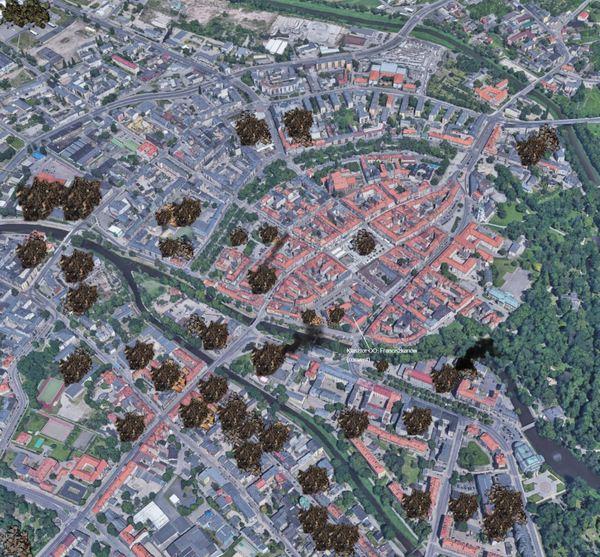 4 Nov 2000 Kalisz city center full