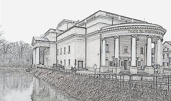 Theater Bogusławski sketch