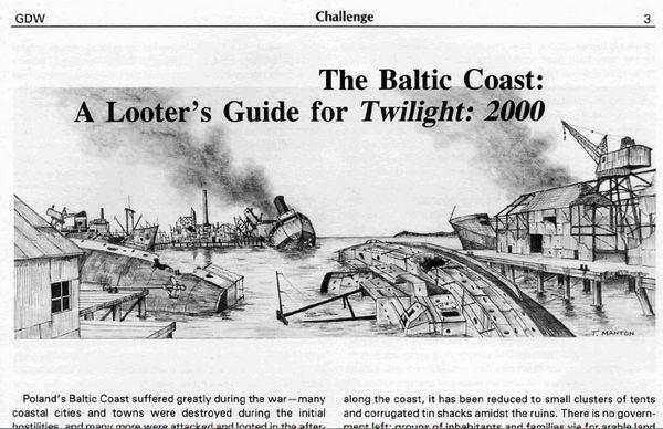 Baltic Coast article Challenge 25