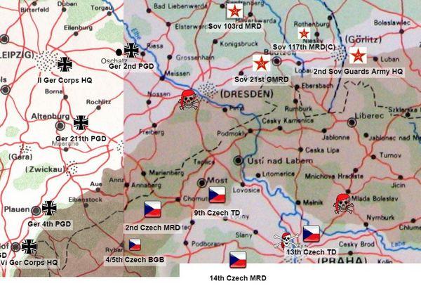 Czech forces