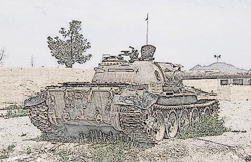 derelict T-64