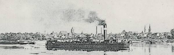 Frankfurt Oder steam boat