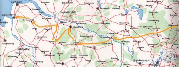 Timeline map 10
