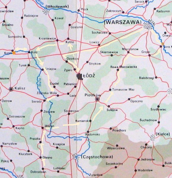 Timeline map 7