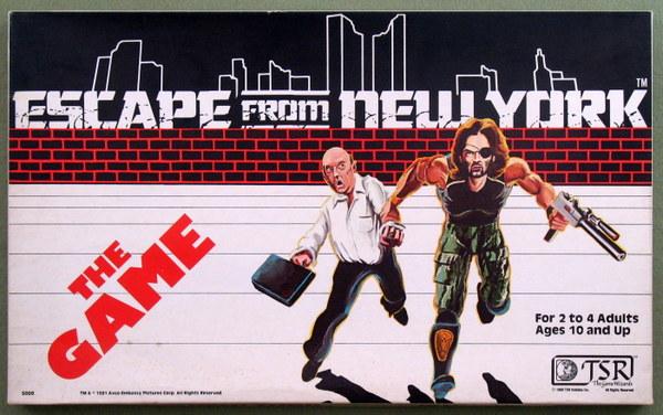 Escape From New York box