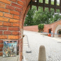 Twilight 2000 visits Wawel Castle in Krakow
